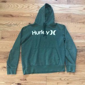 Green Hurley Hoodie